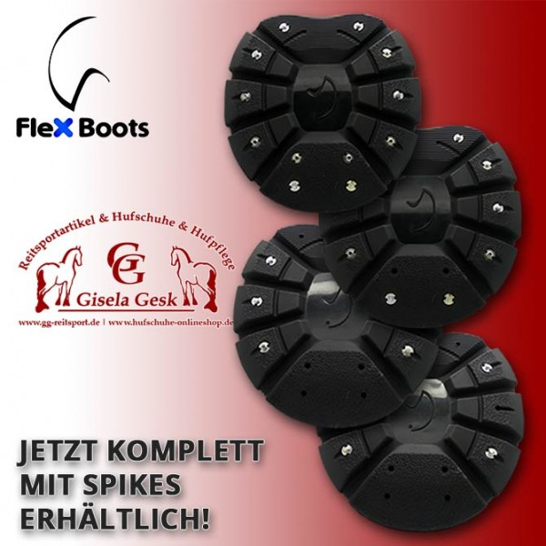 FlexHorse - Schwarz mit Spikes
