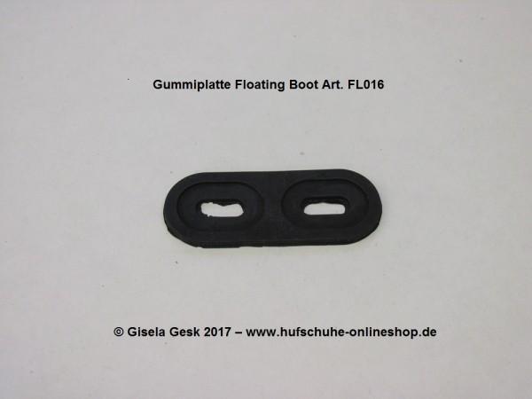 Gummiplatte Floating Boots