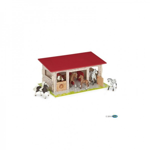 Papo Pferdebox - Lieferung erfolgt ohne Pferde