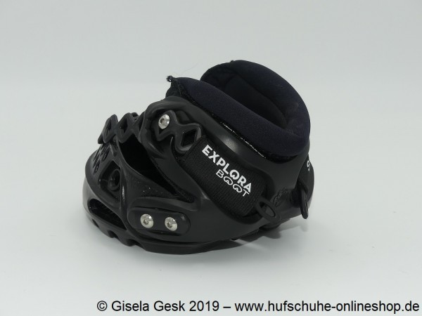 Testschuh Explora Solution Schwarz