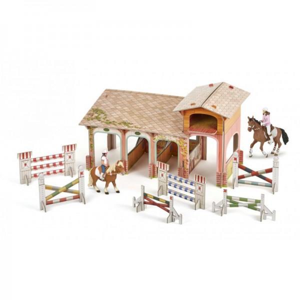 Papo Ponyclub mit 4 Spielfiguren