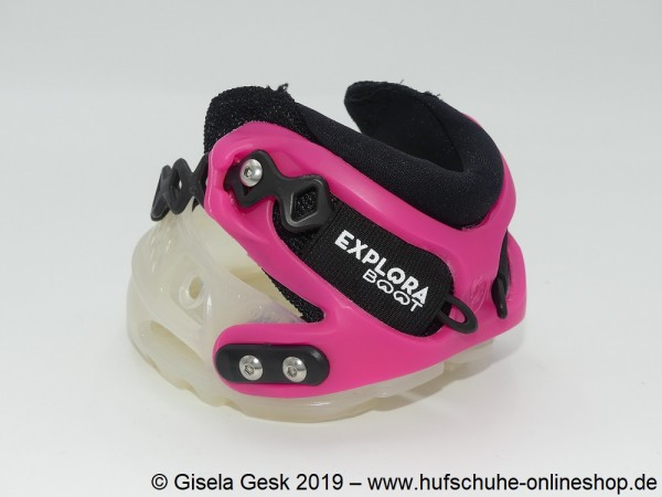 Explora Solution Transparent Pink