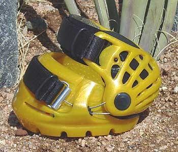Testschuh Renegade Hoof Boot - Gelb - Yellow Gold