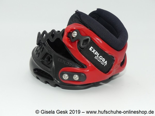 Testschuh Explora Solution Rot
