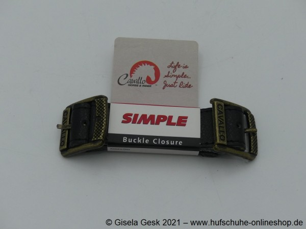 Simple Boot Buckle Strap