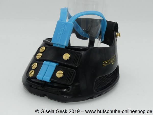 Testschuh Scoot Boot - Muddy Blau