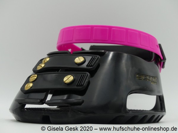 "Scoot Boot - ""Fesselriemen-Pink"""