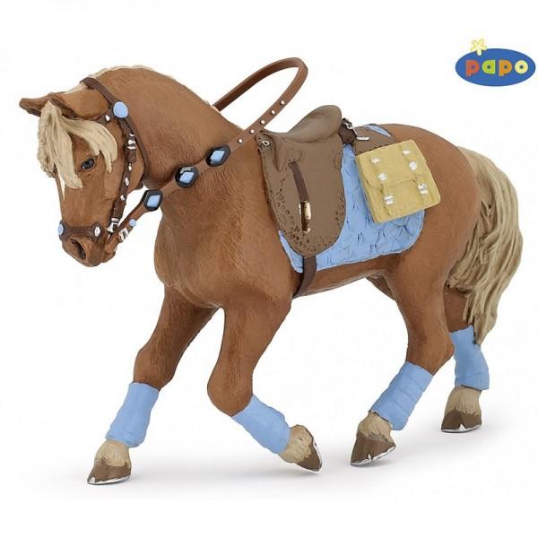 PAPO Pferd des jungen Reiters Miniatur