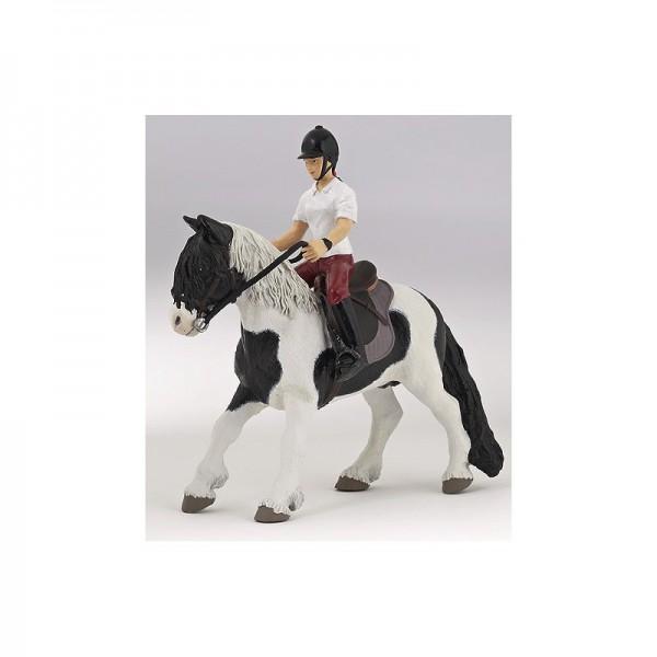PAPO Pony mit Sattel und Trense Miniatur