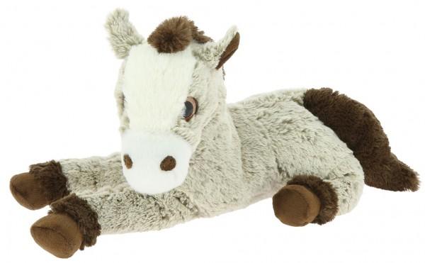 EQUI-KIDS Plüschpferd, 35cm beige-meliert