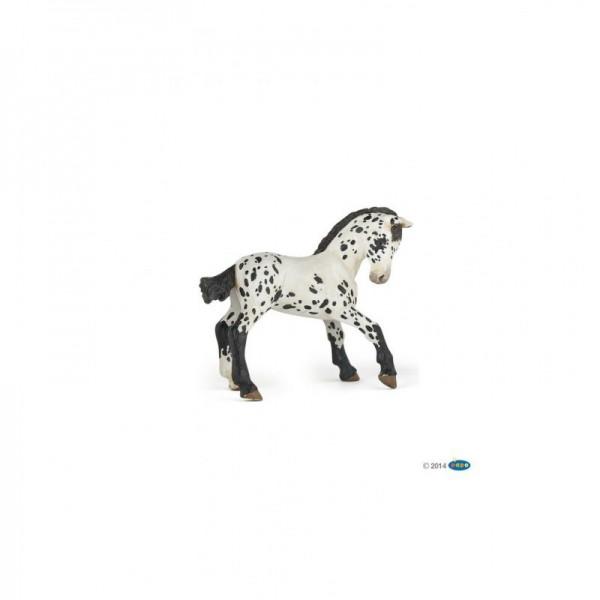 "PAPO Appaloosa ""Black"" Fohlen Miniatur"