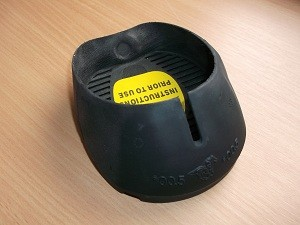 Glove Glue-On WIDE - schwarz - Klebeschuh