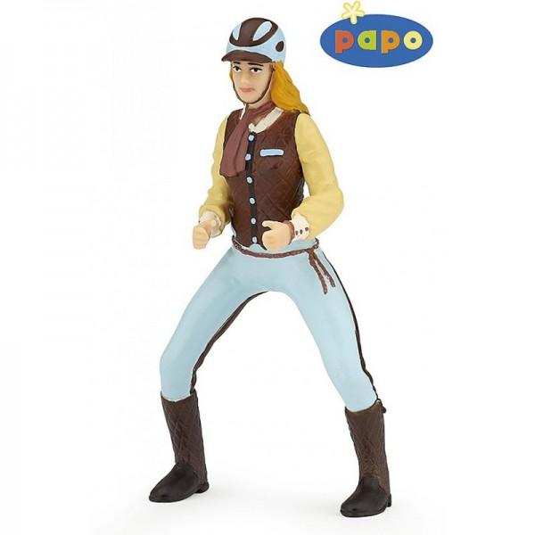 PAPO Fashion blaue Reiterin