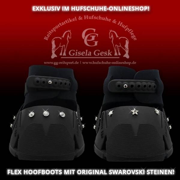 FlexHorse - Schwarz mit Strass - Steinen